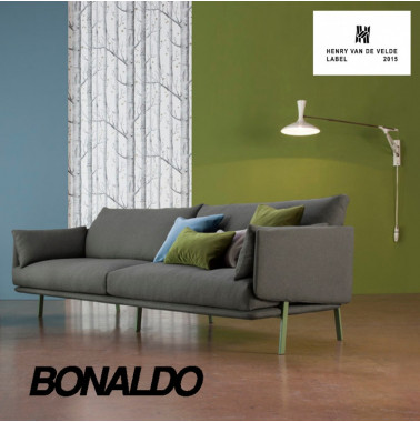 Bonaldo | The Structure sofa wins the Henry van de Velde Label 2015