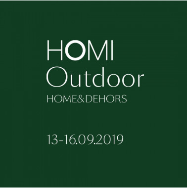HOMI Outdoor Home&Dehors | In Milan from 13 to 16 September 2019